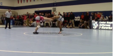 Michael Millage (New Hampton) vs Damond Lockner (Fort Dodge)